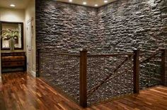 Charmant Faux Stone Interior Wall