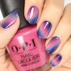 Magical Sky Nail Art