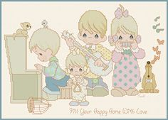 Fill Your Happy Home With Love by Gloria & Pat