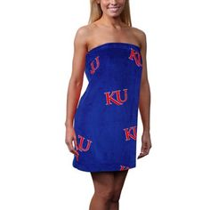 Kansas Jayhawks Ladies Bath Wrap
