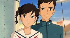 Screencap Gallery for From Up on Poppy Hill Bluray, Studio Ghibli). Studio Ghibli Art, Studio Ghibli Movies, Hayao Miyazaki, Personajes Studio Ghibli, Up On Poppy Hill, Arte Disney, Film Studio, My Neighbor Totoro, Cool Animations