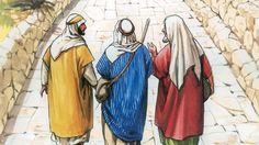 84 - Jesus' Appearance on the Road to Emmaus (English)