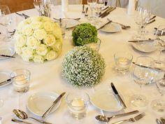 Events und Tischdeko - Hochzeit, Konfirmation oder Geburtstag — erst Blumen geben der gedeckten Tafel einen festlichen Glanz | Blumen Sonn in Ostfildern/Nellingen