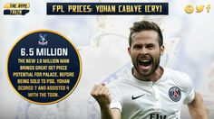 .@CPFC have pulled a great coup with Cabaye, and at 6.5m in the #FPL, he could be this season's Gylfi Sigurdsson.