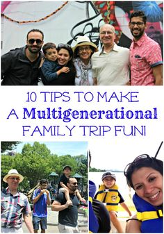 10 Tips to make a multigenerational family trip fun so that grandparents, kids and everyone has FUN! - Family travel