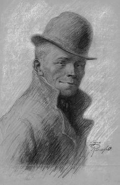 Karl Valentin http://upload.wikimedia.org/wikipedia/commons/8/8b/Karl_Valentin_by_Eugen_Rosenfeld_%281870_-_1940%29.jpg