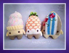 4 seasons SUMMER made by angiegurumi / crochet pattern  by lalylala