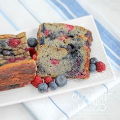 Berry Banana Protein Cake (gluten free, dairy free, low fodmap)