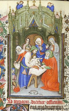 Book of Hours, MS M.64 fol. 47v - Images from Medieval and Renaissance Manuscripts - The Morgan Library & Museum