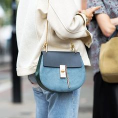 Chloé Drew Leather Crossbody Bag