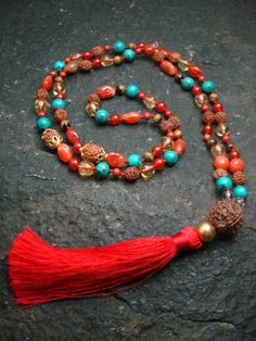 Sarasvhati Mala Necklace  #creativity #mala #necklace