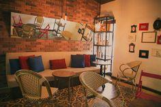 Diseño de interiores por Nómada Design Studio. Mosaico formato 25x25 de Studio Victoria.