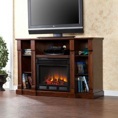 Callington Media Electric Fireplace