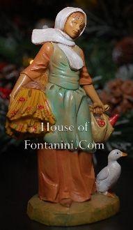 "Hannah the Farm Girl - Fontanini 5"" Scale - House of Fontanini® - The Internets Most Complete Fontanini® Gift Store"