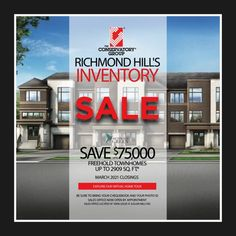 Richmond Green, Richmond Hill, Sales Office, Set Up An Appointment, Conservatory, Appointments, House Tours, Townhouse, Vibrant