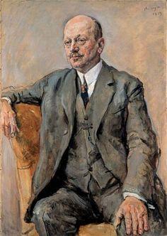 Portrait of Julius Freund, 1925 by Max Slevogt (German 1868-1932)