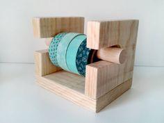 Organizador mini para 4 rollos de washitape