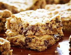 Chocolate Oatmeal Cookies Bars