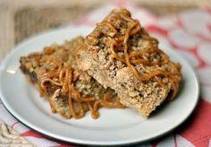 Recipe: Cinnamon Walnut Dulce de Leche Bars   Kitchn