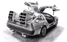 Back To The Future by Lowrider-Girl.deviantart.com on @DeviantArt  Back to the Future. Memories. Could go back and get it when COE is cheaper.