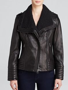 MICHAEL Michael Kors Leather Jacket.