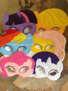 Mi poco Pony inspirado Felties mi pequeño Pony por JJRDesigns