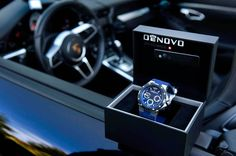DeNovo Men's Swiss Made Chronograph Watch Blue Rubber Strap Blue Dial Swiss Luxury Watches, Swiss Army Watches, Luxury Watches For Men, Best Watches For Men, Vintage Watches For Men, Cool Watches, Wrist Watches, Web Design, Expensive Watches