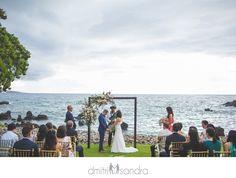 Kukahiko Estate oceanfront Maui wedding venue Bilss Weddings Dmitri and Sandra Photography blush gold wedding