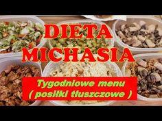 PRZYKŁADOWE TYGODNIOWE MENU na DIECIE MICHASIA - YouTube Menu, Chicken, Youtube, Food, Menu Board Design, Essen, Meals, Youtubers, Yemek