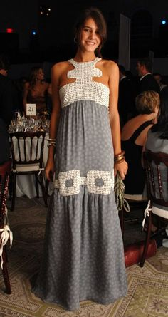 margherita missoni - I love her style. Beautiful maxi.