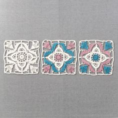 Association of lace that carries the wind of inspiration from Turkey Blue Tile | Felissimo
