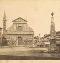 Church of Santa Maria Novella, Florence by Giacomo Brogi