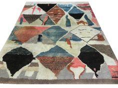 Moroccan Berber Beni Quarain Design Rug Handmade door WeMakeRugs, $2995.00