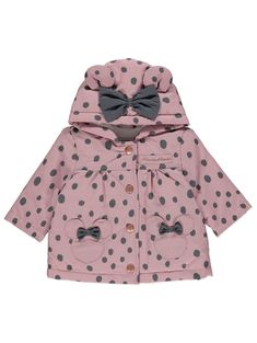 Disney Minnie Mouse Pink Spotty Print Mac | Baby | George