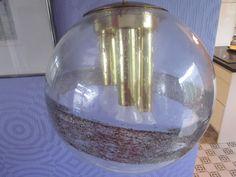 Huge and heavy: 70s pendant lamp by Doria (designclassics24)