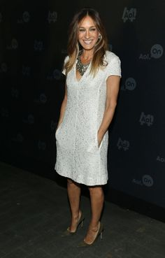 Sarah Jessica Parker wore white