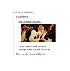 {Harry Potter} this ship has sailed