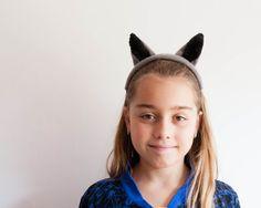 Wolf Ears Headband Children's Wolf Head Band Photo Prop от oKidz