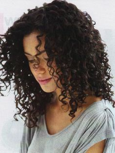 you can find most of my posts of curly girls at this board: http://pinterest.com/shaiamiel/curls i will post more pictures there for you to be inspired. click on this picture to see the more current board.