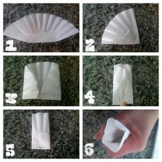 DIY: Tea Bag from a round coffee filter