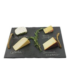 Look at this #zulilyfind! Vintage Vine Slate Cheese Board #zulilyfinds