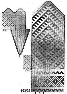 "Turkish Kilim pattern for gloves, also useful for socks. sВязание. Варежки с жаккардом - ""Зимняя радуга"" | VK"