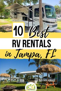 Planning a family vacation in Tampa, FL? Why not rent an RV? Camping vacations are the best way to explore the US and spend quality family time. Check out how you can rent an RV from a private RV owner through Outdoorsy and explore Florida! Plus save $50 off your rental using our coupon code! #rvblogger #rvrental #florida #floridacamping #tampaflorida #rentinganrv #rvrentaltips #vacationrental #familyvacation #rental #rentalbyowner #outdoorsy Florida Camping, Rv Camping, Rent Rv, Rv Campgrounds, Rv Rental, Tampa Florida, Rv Parks, Rv Travel, Rv Life