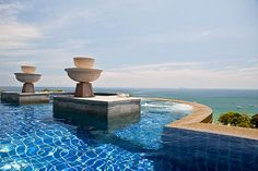 The top pool