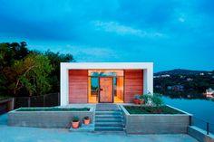 VIVIR SOBRE UN ACANTILADO 'Cliffside residence' es una casa suspedida sobre el Lago Austin. Specht Architects