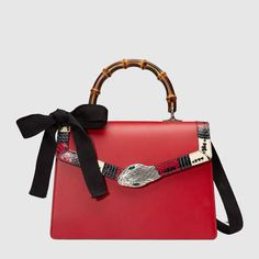 Gucci - Gucci Lilith leather top handle bag