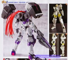 GUNDAM GUY: 1/144 Gundam Nadleeh Partita - Customized Build