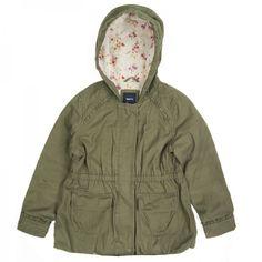 Płaszcz dziewczęcy GAP 116-122