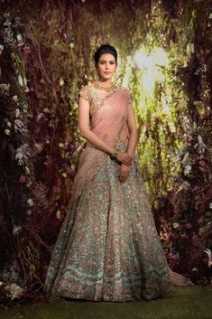 Aqua Blue Colour Silk Fabric A Line Lehenga Choli Comes With Matching Blouse and Dupatta. This Lehenga Choli Is Crafted With Embroidery,Thread Work. This Lehenga Is Semi Stitched and Blouse Comes As a. Indian Wedding Outfits, Bridal Outfits, Bridal Dresses, Pakistani Wedding Dresses Online, Pakistani Dresses, Designer Bridal Lehenga, Indian Bridal Lehenga, Lehenga Indien, Lehenga Choli Designs