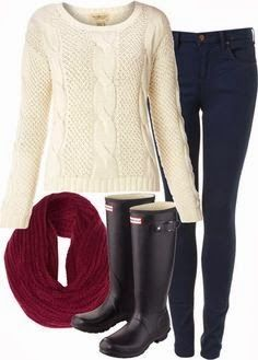 Winter Outfit: I just need the scarf!
